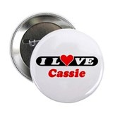 I Love Cassie Button