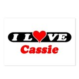 I Love Cassie Postcards (Package of 8)