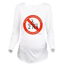 no lambda over 2na t Long Sleeve Maternity T-Shirt