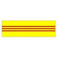 South Vietnam flag Bumper Bumper Sticker