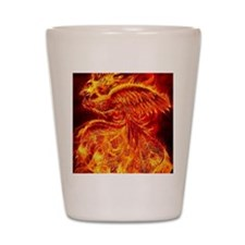 Phoenix Rising Shot Glass