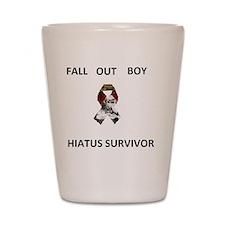 Fall Out Boy Hiatus Survivor Shot Glass