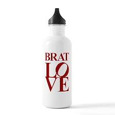 brat love Water Bottle
