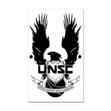 unsc Rectangle Car Magnet