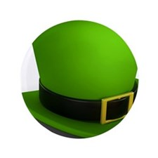 """st paddys day 3.5"""" Button"""