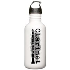 Clarinet Vertical Water Bottle