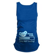 Baby BOY Loading (cute bear design) Maternity Tank