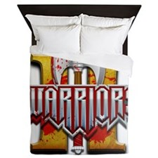 Warriors II Queen Duvet