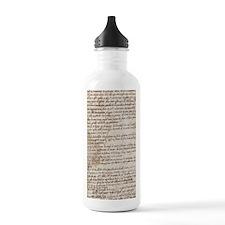 Leonardo Da Vincis Han Water Bottle