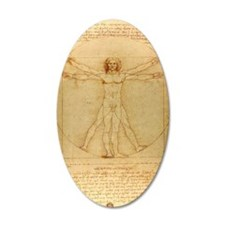 Da Vincis Vitruvian Man Wall Decal