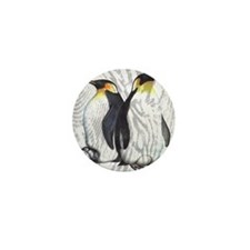 Emperor Penguins Mini Button