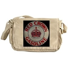 Red Crown Gasoline Messenger Bag