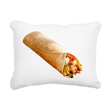 Burrito Rectangular Canvas Pillow