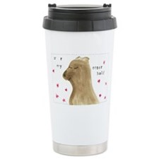 U R MY OTTER HALF Travel Mug