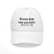 Rescue dogs Baseball Cap