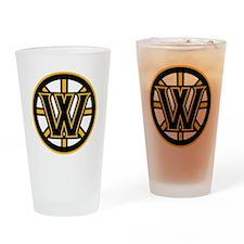 Wormtown_Bruins_Logo Drinking Glass