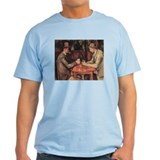 The Card Players by C&#233;zanne T-Shirt