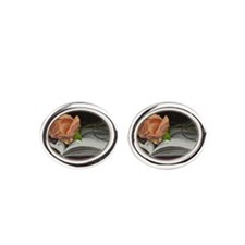 Rose and Book 130130 Cufflinks