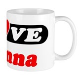 I Love Brianna Coffee Mug
