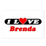 I Love Brenda Postcards (Package of 8)