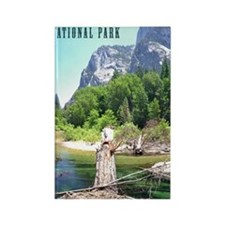 Kings Canyon National Park Tall Rectangle Magnet
