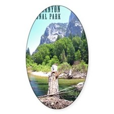 Kings Canyon National Park Tall Decal
