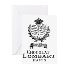 Chocolat Lombart Greeting Card