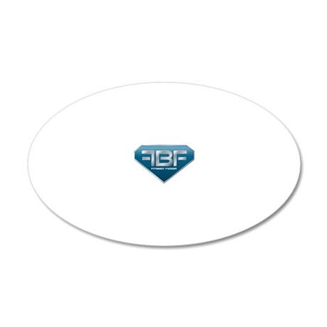 FitBody Fusion T-Shirt 20x12 Oval Wall Decal