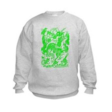 Green Multidragon Sweatshirt