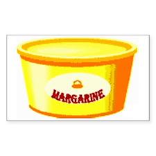 Margarine tub Decal
