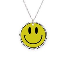 Yellow Smiling Face Necklace
