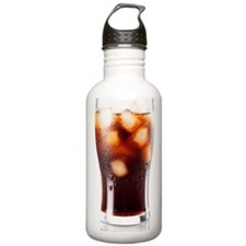 Glass of Cola Water Bottle