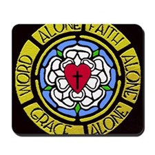 Grace Faith Word Car Magnet Mousepad