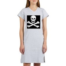 jolly roger Women's Nightshirt