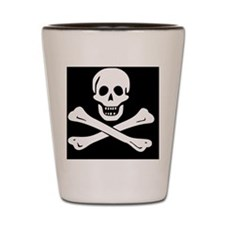 jolly roger Shot Glass
