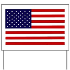 American Flag Car magnet Yard Sign