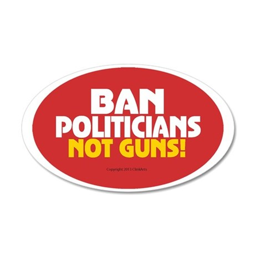 Pro Gun Ownership Sticker 35x21 Oval Wall Decal
