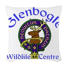 Glenbogle Wildlife Centre Woven Throw Pillow