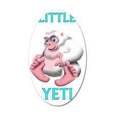 Little Yeti Wall Decal
