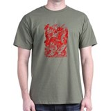 Red Multidragon T-Shirt
