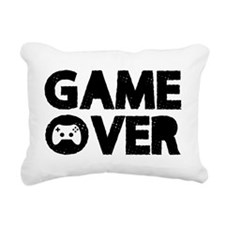 Game Over Rectangular Canvas Pillow