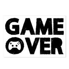 Game Over Postcards (Package of 8)