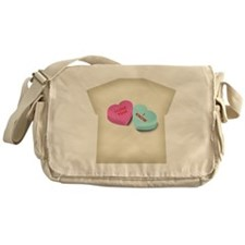 Leia  Han Solo Hearts Womens All Ove Messenger Bag