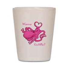 Valentine Octopus Shot Glass