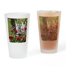 Rose Garden Drinking Glass