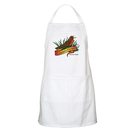 Connecticut Robin Apron
