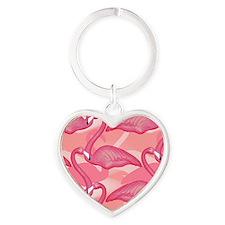 pinkflamingo_gelmp Heart Keychain