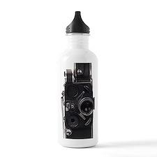 Vintage film camera Water Bottle