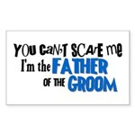 Father of the Groom Rectangle Sticker