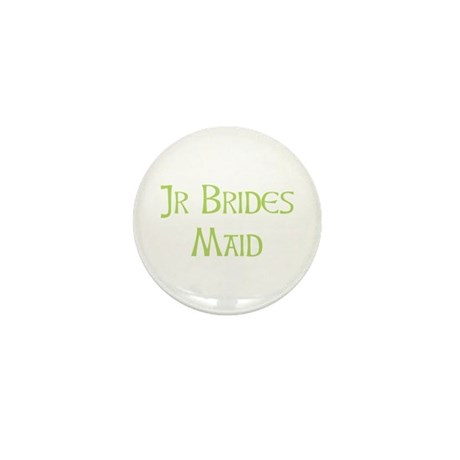 Sherbet Junior Bridesmaid Mini Button
